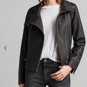 All Saints Bales leather jacket